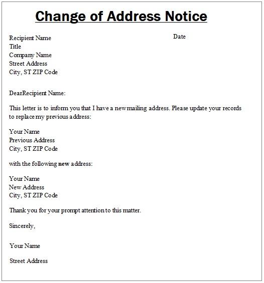 usps change of address form pdf
