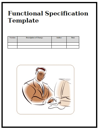 Functional Specification Templates | 2+ Printable Word Formats