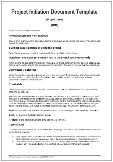 Startup Project Templates | 3+ Printable PDF & Word Formats