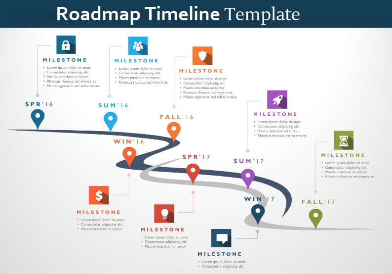 Roadmap Template Excel from www.sampleformats.org