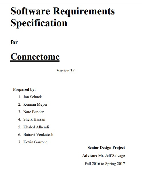 Software Specification Templates 6 Free Word Excel Pdf Formats