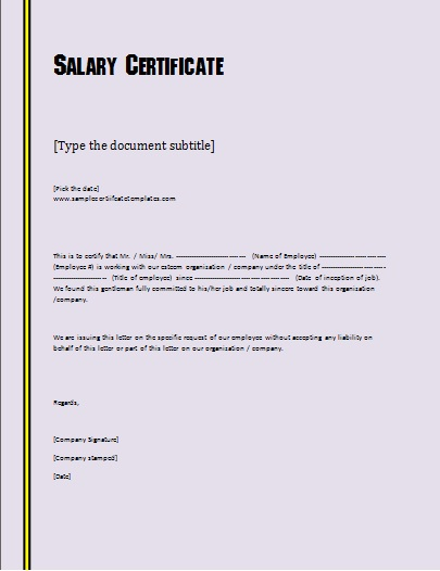 Awesome salary certificate form photos best resume examples and salary structure template salary structure template a salary scale altavistaventures Choice Image