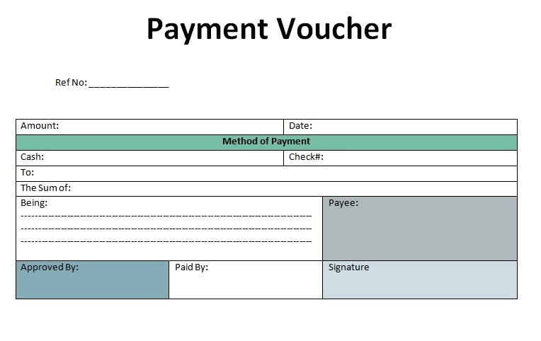 Payment Voucher Templates 17 Free Printable Word Excel Pdf Formats